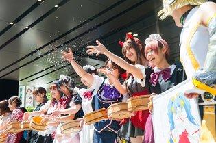 "Akihabara's ""Water Girls"" Help Otaku Beat the Midsummer Heat!"