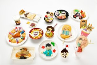 """Osomatsu-san in Namja Town"" to Be Held! Features Exclusive Food and Cat-Eared Ver. Merchandise!"