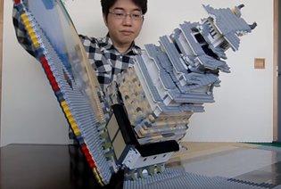 Amazing Pop-Up Lego of Famous Japanese Historical Sites!