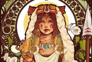 ART / Ghibli's Princess Mononoke Goes Art Nouveau in Amazing Fan Art Treatment