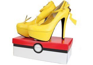 FASHION / Pokémon Chic: Pikachu-Inspired Shoes!