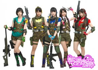 "GAME / Enjoy the Shooting Game ""The Soul of Sevens"" with Tenkou Shoujo Kagekidan!"