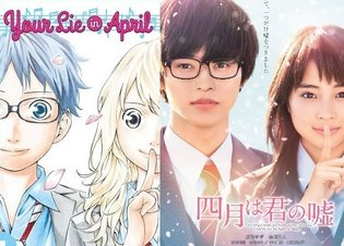 MOVIE / Your Lie in April Movie Releases Key Visual