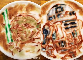 ART / 15 Star Wars Latte Art to Awaken Your Force