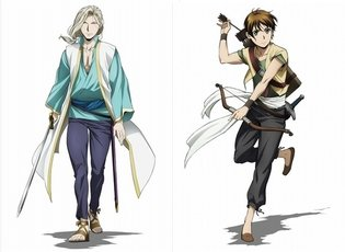 ANIME / Arslan Senki Fujin Ranbu: Narsus and Elam's Designs Revealed