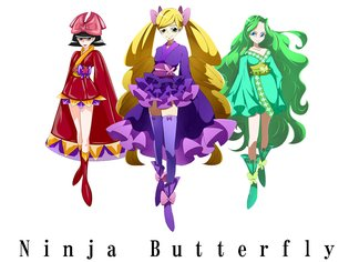 ANIME / Music Group Ninja Butterfly Debuts to the World on March 3