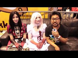 TOM Interviews Cosplayers D-Piddy, Alodia, and Ashley Gosiengfiao at Anime Impulse