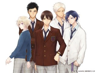 "MANGA / ""Sanrio Danshi"" Coming Right Up! New Tactic from Sanrio Grabs Otaku Girls Again by Using School Boys!"