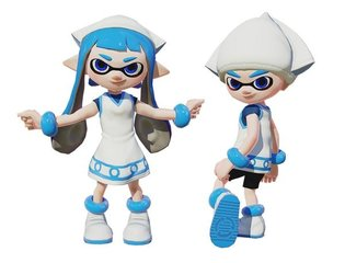 """""""Splatoon"""" Finally Introducing Squid Girl Gear! New Collab Illustrations Also Published"""