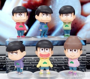 FIGURE / Osomatsu-san Trading Figures [Good Smile Company Official Blog]