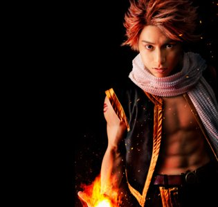 Fairy Tail Hero's Abs are as Hot as His Flames in First Cast Photo of Anime's Upcoming Stage Play