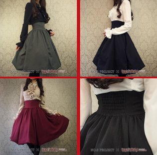 New Line of Skirts Promises to Give You the Slim Waist and Long Legs of an Anime Heroine 【Photos】