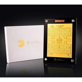 "A Golden Screen!? Namco's Masterpiece Arcade Game ""Pac-Man"" to Be Released with Solid Gold Plate for 35th Anniversary"