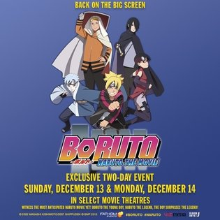 "EVENT / Prepare for Battle as ""Boruto: Naruto the Movie"" Exclusive Event Comes to Select US Cinemas Nationwide for Two Nights Only"