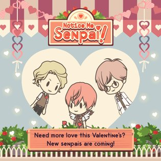 Senpai is Ready for Your Valentine Chocolate - Notice Me Senpai Valentine's Event Coming Soon!