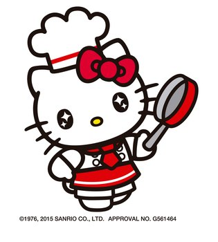 Starry-Eyed Hello Kitty! Just the Way They Look in Showa Girls' Manga
