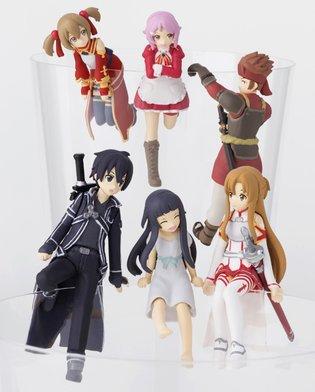 FIGURE / Sword Art Online's Main Cast Set to Receive the Putitto Figure Treatment!