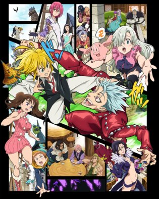 ANIME / The Seven Deadly Sins Gets New Anime Season