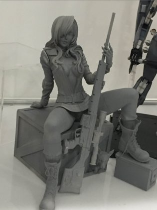 NYCC 2015 Figure Report: Kotobukiya Showcases Upcoming Lady Deadpool, Spartan Athlon, Episode VII Statues and More!