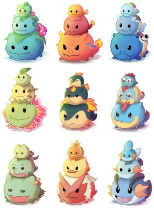 ANIME / If Only These Pokemon Tsum Tsum were Real...