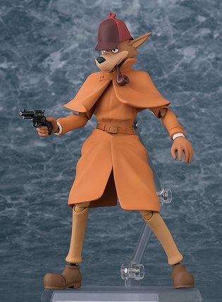 "From Masterpiece Anime ""Sherlock Hound"" Comes a Figma of Hound!"