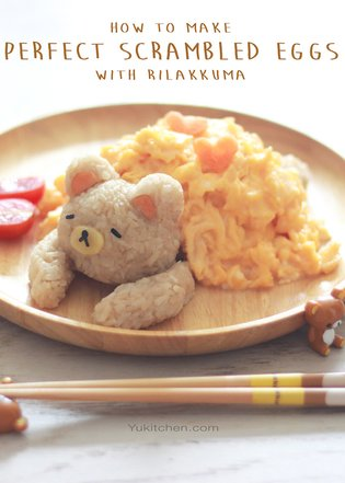 JAPAN / [Healthy Food for the Geeky Soul] Perfect Scrambled Eggs with Rilakkuma