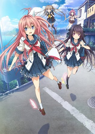 "Broadcast Begins in Japan in Winter 2016! ""AOKANA: Four Rhythm Across the Blue"" Key Visual & Cast Info Posted!!"