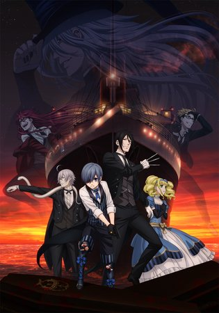 ANIME / Brand New Poster and First Trailer Revealed for Black Butler Movie!