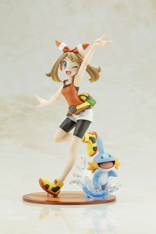 FIGURE / Get Ready to Add May and Mudkip to Your Figure Team Starting April 2017!