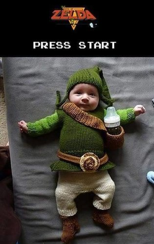 You've Never Seen Link This Cute Before…!