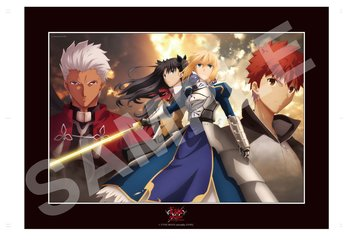Fate/stay night [Unlimited Blade Works] Exclusive Cel Frame Artwork by Tomonori Sudo 1