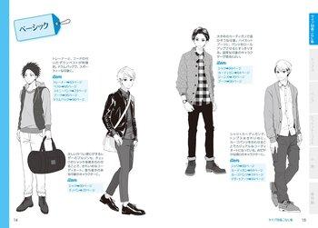 Manga Clothes Design | Manga Character Clothes Catalogue Boys Edition Tokyo Otaku Mode Shop