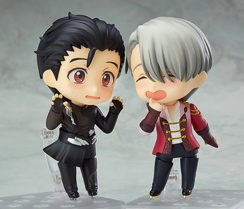 Displayed With Nendoroid Yuri On Ice Katsuki Sold Separately