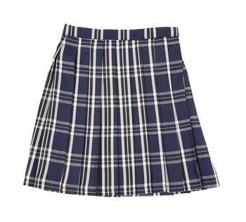 d45975075de2 Teens Ever Deep Blue x White High School Uniform Skirt | Tokyo Otaku ...