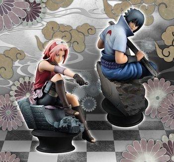 Chesspiece Collection R Naruto Shippuden Sasuke Sakura Set Tokyo