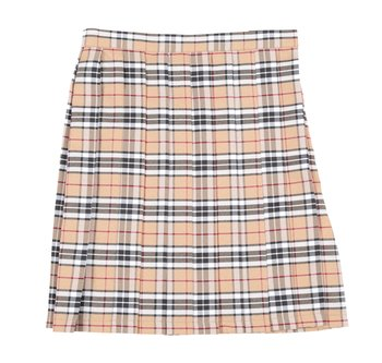 22b755f073 Teens Ever Beige x Black High School Uniform Skirt | Tokyo Otaku ...