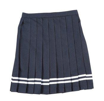 White A-line School Dresses