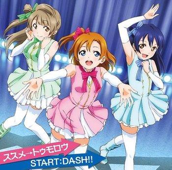susume tomorrow start dash tv anime love live episode insert