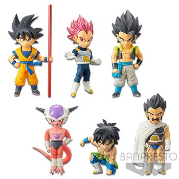 Dragon Ball Super Broly World Collectable Figure Vol 1