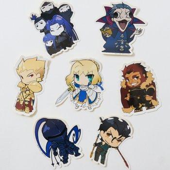 fate zero chibi character stickers tokyo otaku mode shop