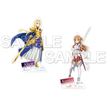 Sword Art Online: Alicization Acrylic Figure Collection: Asuna & Alice