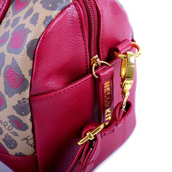 4d5e0a336 Hello Kitty Berry & Brown Leopard Crossbody Bag | Tokyo Otaku Mode Shop