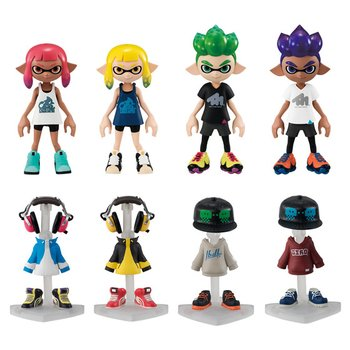 splatoon 2 gear collection vol 1 tokyo otaku mode shop