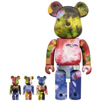 5fd8adab BE@RBRICK Pushead 3 Different Colors 100% & 400% 4-Pack Set | Tokyo ...
