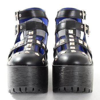 0c03a4c73ca YOSUKE USA Platform Chunky Sandal 2