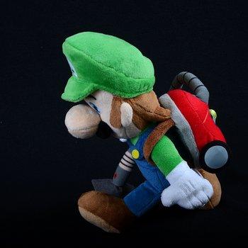 Luigi With Poltergust 5000 Plush Luigi S Mansion Dark Moon
