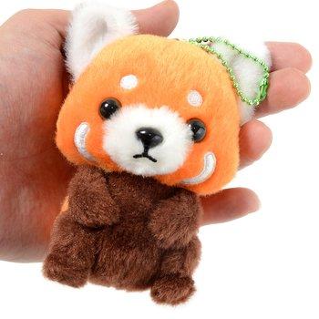 Lesser Panda Chan Baby Red Panda Plush Collection Ball Chain