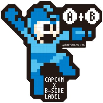 Capcom x b side label mega man stickers 1