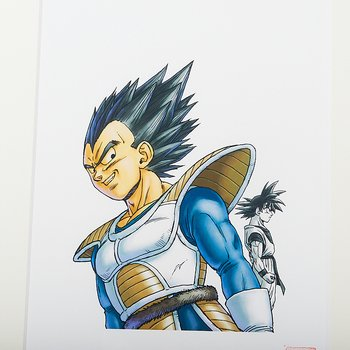 Akira Toriyama Reproduction Art Print - Dragon Ball: The Complete Edition  16 2