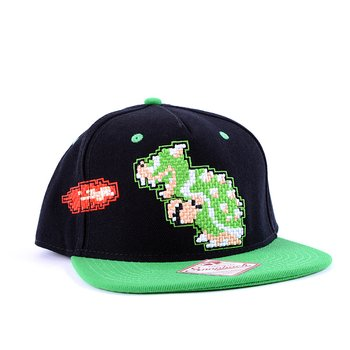 620046c9d87 Nintendo Super Mario Bros. 8-Bit Bowser Snapback Hat 1